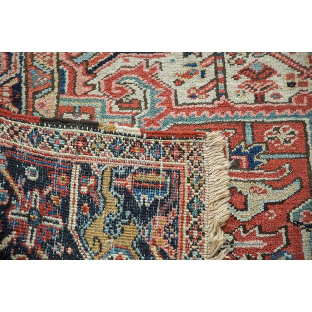 Vintage Heriz Carpet- 8′2″ × 11′ - Image 6 of 8