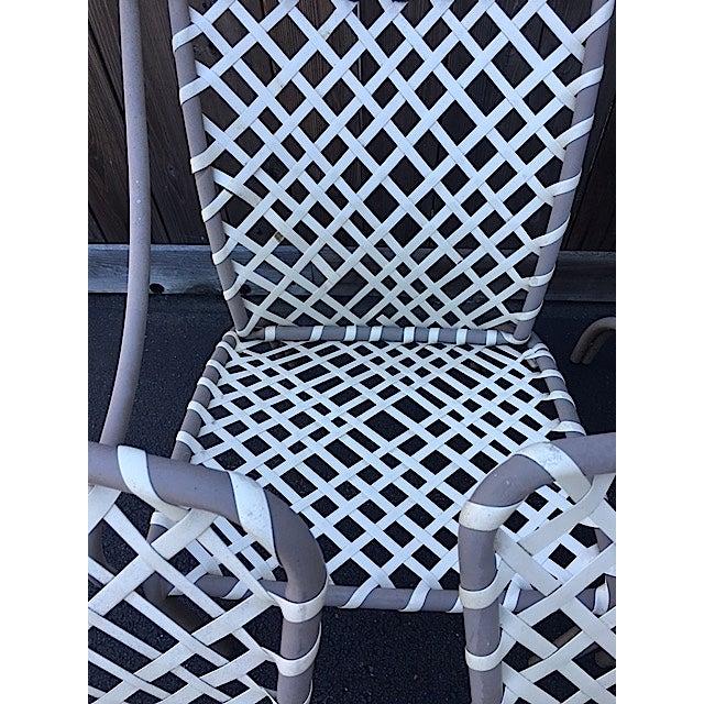 Vintage Brown Jordan Patio Chairs - Set of 5 - Image 5 of 8