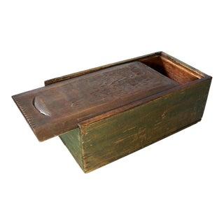 Antique Primitive Candle Box For Sale