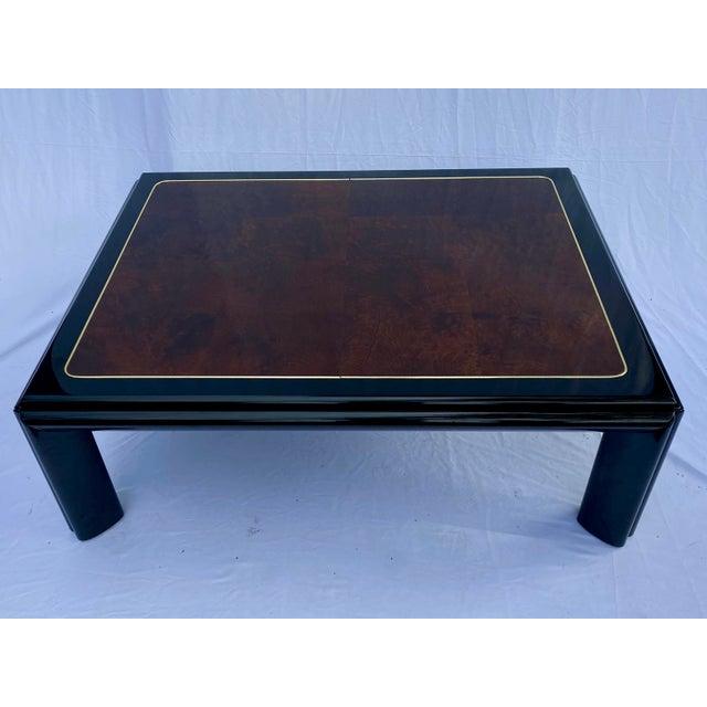 1970s Henredon Scene III Burl Coffee Table For Sale - Image 13 of 13