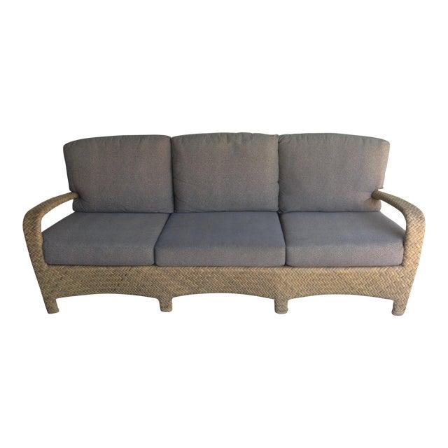 Brown Jordan Outdoor Patio Sofa - Image 1 of 10