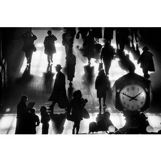"""Grand Central 1990"" Richard Sandler Limited Edition B/W Print For Sale"