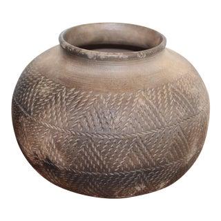 Southwestern Pottery Jar For Sale