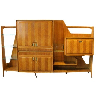 Mid-Century Italian Wall Unit For Sale