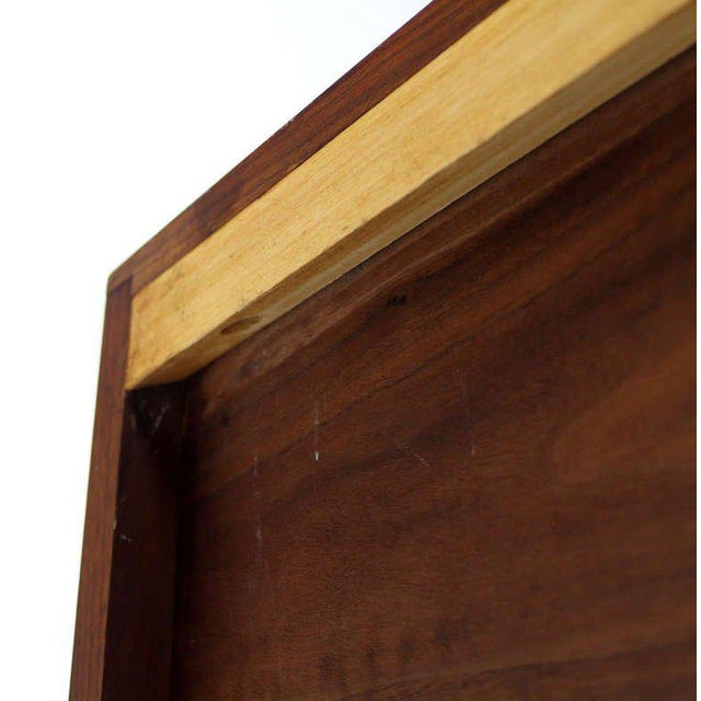Mid-Century Modern Solid Walnut Hanging Shelf or Bookcase For Sale In New York - Image 6 of 8