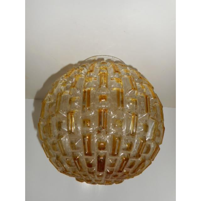 Mid Century Honeycomb Ceiling Light Shade Lamp - Image 3 of 7