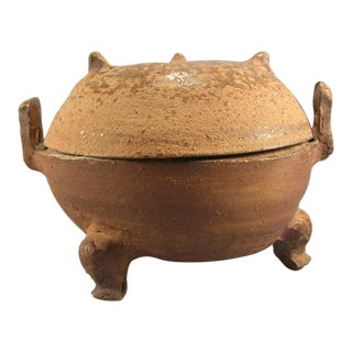 Han Dynasty Proto-Porcelain Ding Vessel For Sale