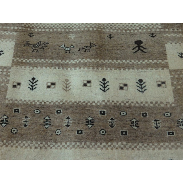 "Hand-Knotted Runner Rug - 2'9"" x 8'3"" For Sale In Los Angeles - Image 6 of 12"