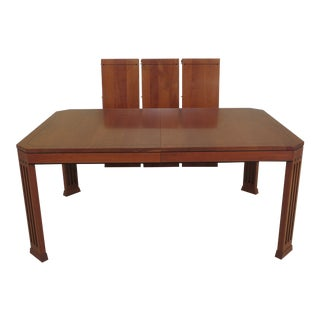 Arts and Crafts Stickley 21st Century Collection Cherry Dining Room Table For Sale