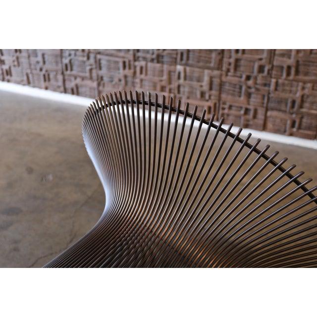 1960s Vintage Warren Platner for Knoll Bronze Coffee Table For Sale - Image 11 of 12