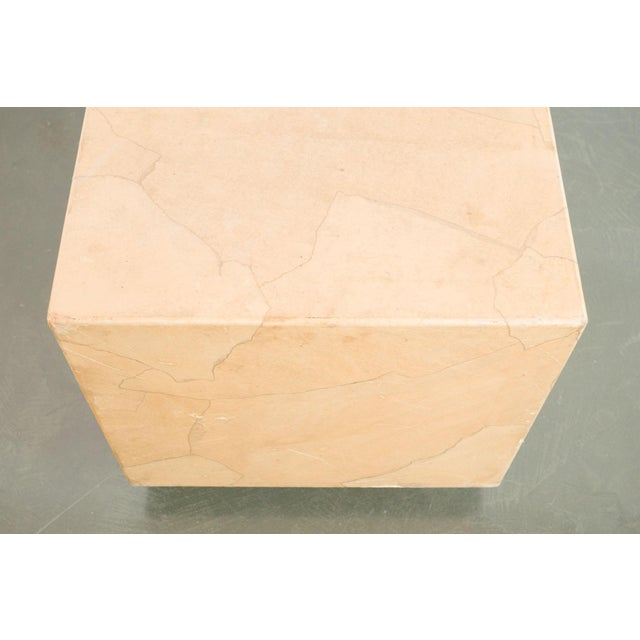 20th Century Modern Henredon Cube Side Table For Sale In Seattle - Image 6 of 8