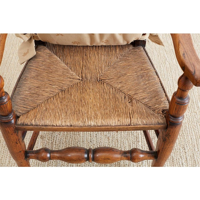 19th Century English Ladder Back Chair For Sale In San Francisco - Image 6 of 13