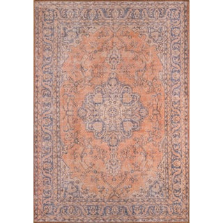 "Momeni Afshar Polyester Copper Rug - 2'3"" X 7'6"" For Sale"