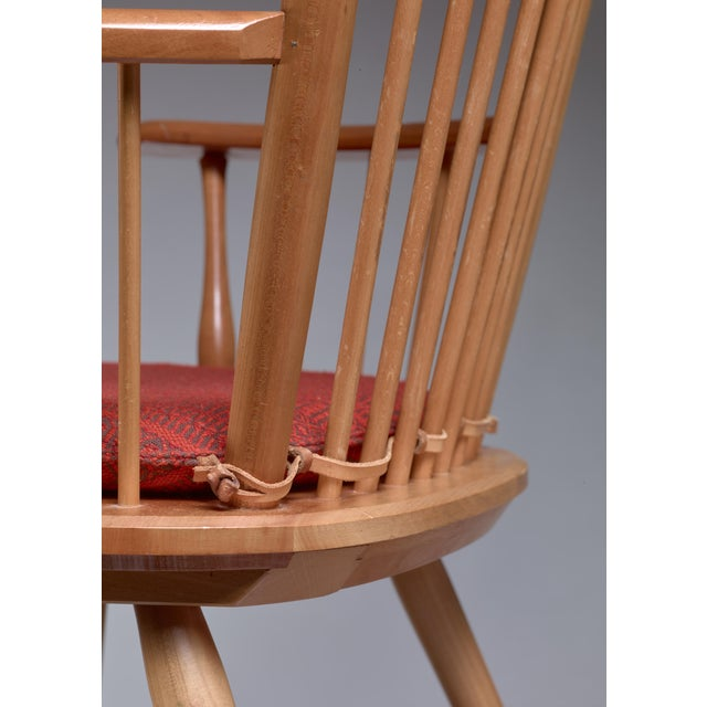 Albert Haberer Wingback Armchair, Germany, Circa 1950 For Sale - Image 10 of 11