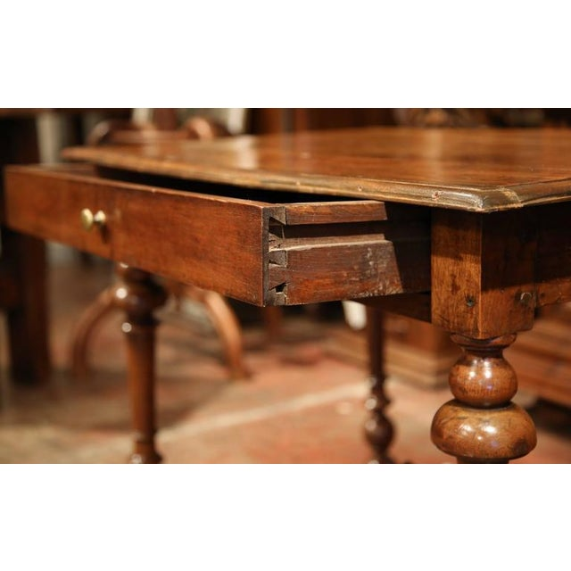 Late 18th Century French Walnut Side Table For Sale In Dallas - Image 6 of 10
