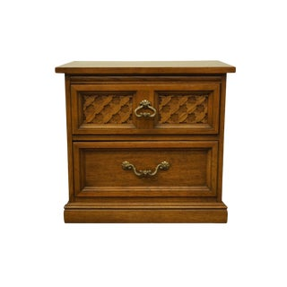 Dixie Furniture Italian Mediterranean Style Nightstand For Sale