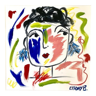 """""""Bea"""" Abstract Face Painting For Sale"""