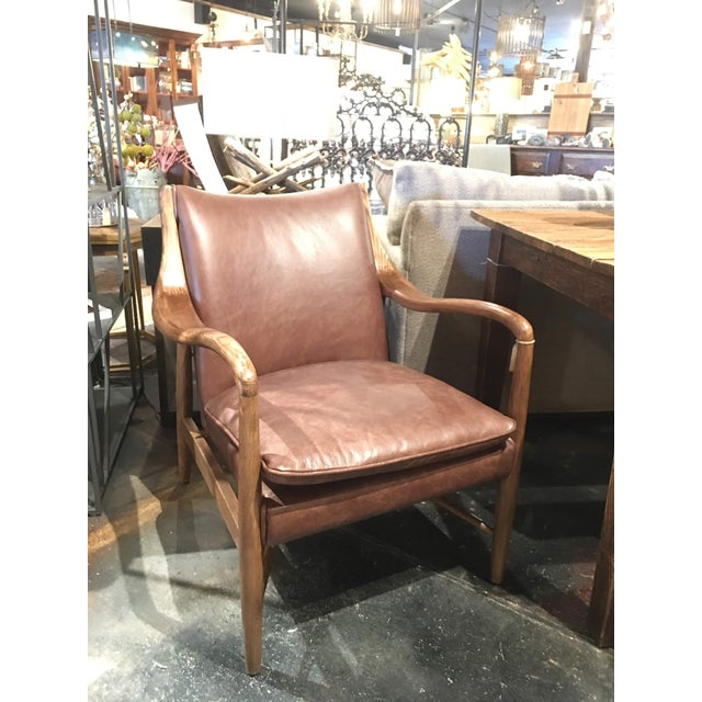 Animal Skin Kiannah Club Chair For Sale - Image 7 of 10