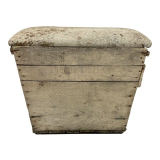 Vintage Champagne Crate Storage Container For Sale