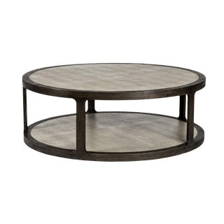 Interlude Home Litchfield Round Cocktail Table For Sale