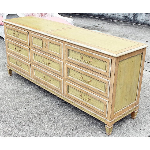 Painted Baker Triple Dresser - Image 3 of 8