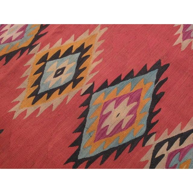 Textile Balkan Kilim For Sale - Image 7 of 9