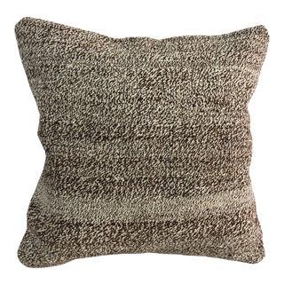 Tribal Handmade Turkish Vintage Traditional Bohemian Kilim Pillow For Sale
