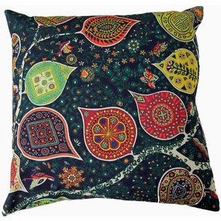 Persian Round Decorative Accent Pillows - a Pair, 17ʺW × 17ʺH Preview