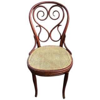 Authentic Signed Thonet Chair For Sale