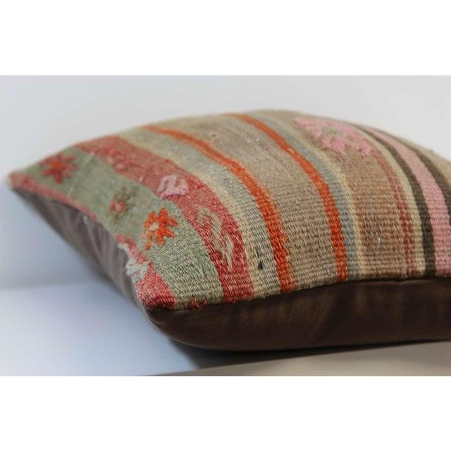Turkish Handmade Kilim Pillowcase - Image 5 of 5