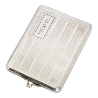 Elgin AM Mfg. Co. Art Deco Sterling Silver Match Holder