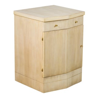 Paul Marra Pinnacle Nightstand in Bleached Douglas Fir For Sale