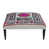 Image of Amitoj Suzani Square Ottoman For Sale