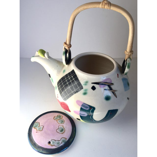 Early 21st Century Contemporary Scott McDowell Porcelain Teapot For Sale - Image 5 of 8