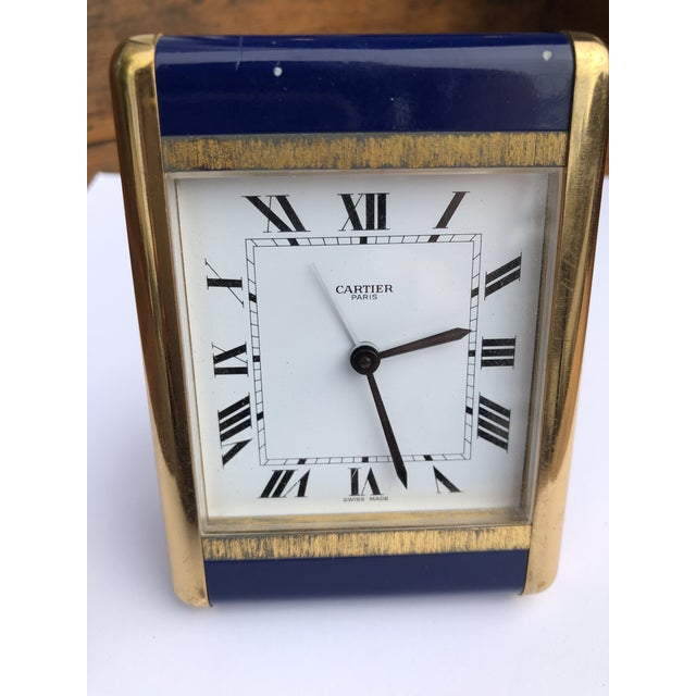 Cartier Paris Travel Clock For Sale - Image 10 of 13