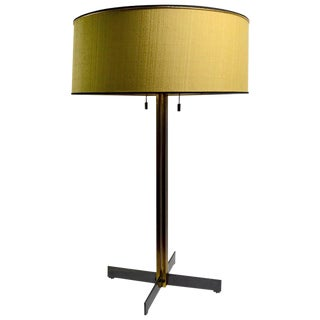 Brass Lamp by Robsjohn for Hansen For Sale
