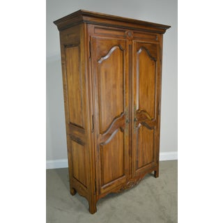 Ethan Allen Country French Collection Large 2 Door Armoire Cabinet Preview