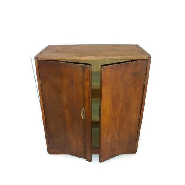 Primitive New England Antique Cabinet Shaker Style - Image 1 of 5