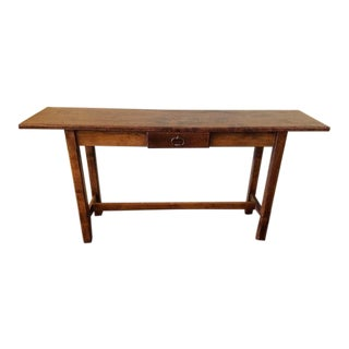 Pine Console Crafted by Beau Sejour For Sale