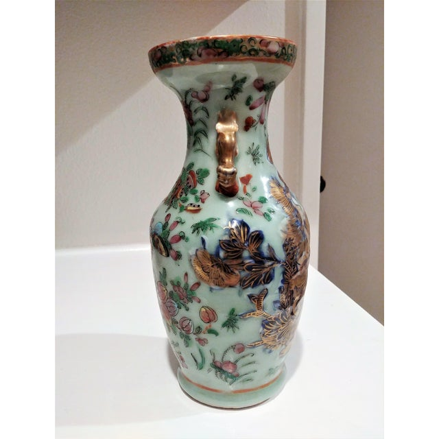 Late 19th Century Antique Chinese Small Vase For Sale - Image 4 of 5