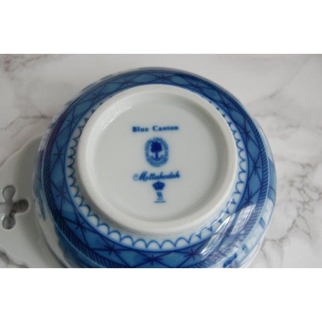 Mottahedeh Blue Canton Porringer Bowls - Set of 4 - Image 4 of 6