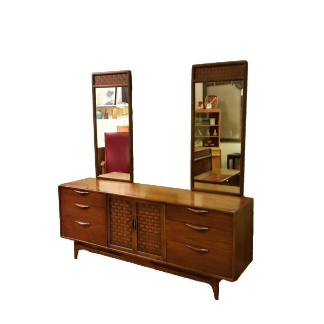 """Warren Church for Lane """"Perception """" Dresser With Mirrors - Image 9 of 9"""