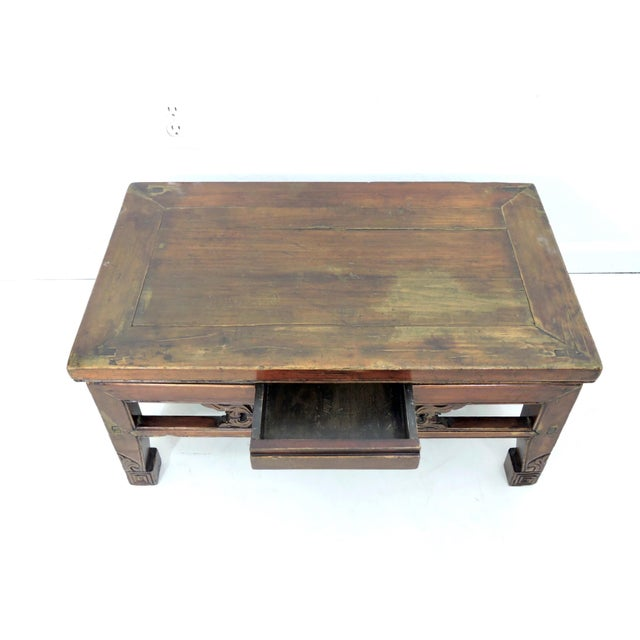 Late 19th Century Antique Chinese Wood 'Opium' Side or Coffee Table, 19th Century For Sale - Image 5 of 6