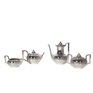 Four-Piece Gorham Silver-Plated Tea and Coffee Set From the 1920s For Sale