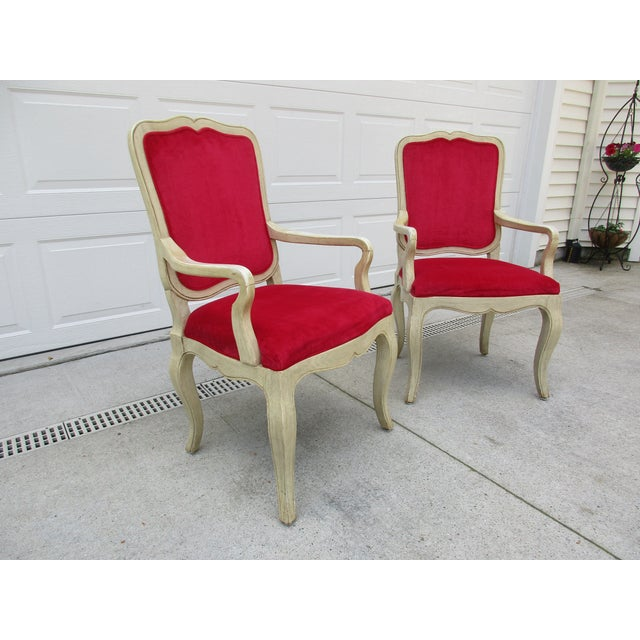 Wood 20th Century French Provincial Baker Side or Dining Chair For Sale - Image 7 of 12