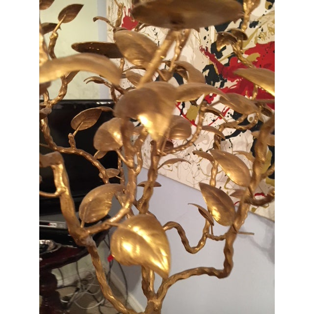 Abstract Large Floor Art Candelabra For Sale - Image 3 of 13