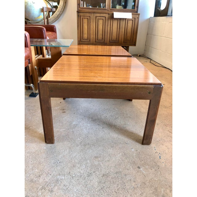 20th Century Danish Mahogany End Tables - a Pair For Sale In Charleston - Image 6 of 9