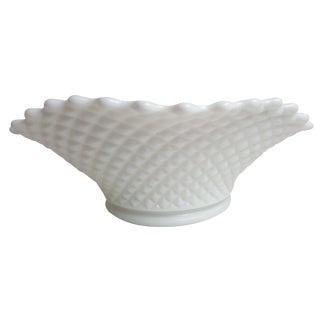 Fenton Diamond Hobnail Serving Bowl For Sale