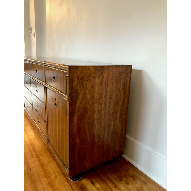 Campaign 1970s Campaign Drexel Accolade Credenza For Sale - Image 3 of 13