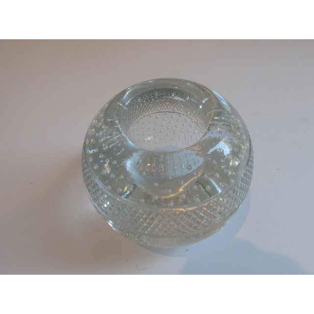 Mid-Century Modern Antique Glass Match Striker For Sale - Image 3 of 8